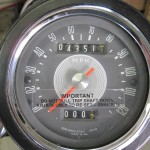 BSA B44VS - 1969 - Speedo, Clock, MPH.
