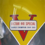 BSA B44VS - 1969 - Victor 441 Special Badge, Decal, Gas Tank.