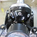 BSA B44VS - 1969 - Headlight, Ignition Lights and Cables.