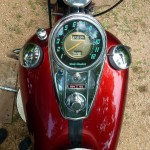Harley-Davidson Duo Glide - 1960 - Gas Tank, Speedo, Gas Caps and Ignition.