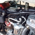 Harley-Davidson Duo Glide - 1960 - Oil Pump. Oil Lines, Frame and Motor.