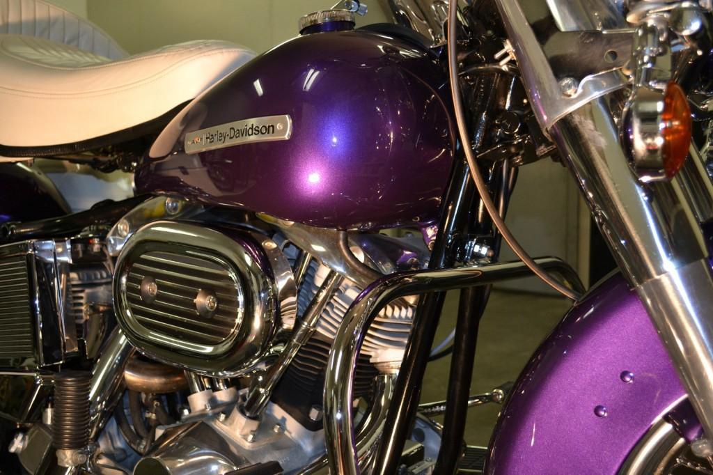Harley-Davidson FLH Shovelhead - 1972 - Restored Classic