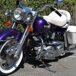 Harley-Davidson FLH Shovelhead - 1972 - Front End, Mudguard, Fender, Forks, Indicators, Flashers and Brakes.