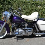 Harley-Davidson FLH Shovelhead - 1972 - Motor and Transmission, Forks, White Wall Tyres and Wheels.