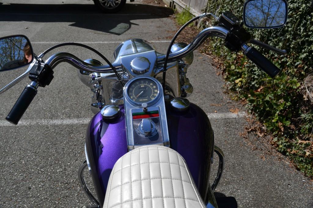 Restored Harley Davidson Flh Shovelhead 1972 Photographs