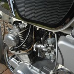 Honda CB160 Sport - 1969 - Engine and Gearbox, Clutch Cable and Carburettor.