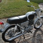 Honda CB160 Sport - 1969 - Seat, Tanks and Rear Fender.