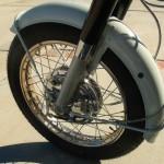 Honda CB450 Black Bomber - 1967 - Front Fender, Chrome Wheel Rim with New Spokes, Front Brake.