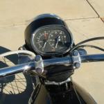 Honda CB450 Black Bomber - 1967 - Clocks, Speedo, Tacho and Handlebars.