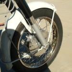 Honda CB450 Black Bomber - 1967 - Front Mudguard, Speedo Drive and Hub.