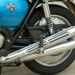 Honda CB750 K1 - 1970 - Chain Guard, Rear Shock and Mufflers.