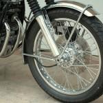 Honda CB750 K1 - 1970 - Front Wheel and Mudguard.
