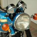 Honda CB750 K1 - 1970 - Headlight, Reflectors and Clock Covers.