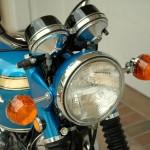 Honda CB750 K1 - 1970 - Headlight, Reflectors and Clock Covers.