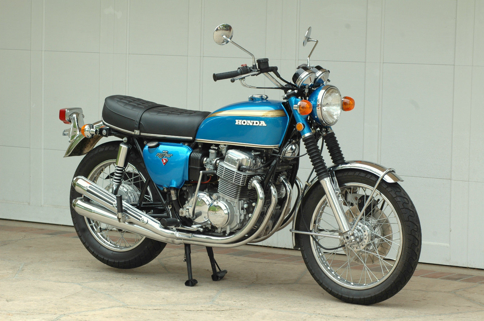 Motocicleta vintage Honda 1970