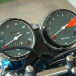 Honda CB750 K1 - 1970 - Speedo, Tacho and Mileage.