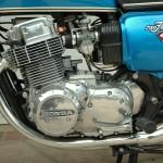 Honda CB750 K1 - 1970 - Gear Lever, Sprocket Cover and Engine.