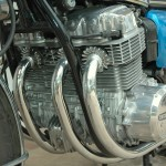 Honda CB750 K1 - 1970 - Motor and Transmission, Cylinder Head and Frame.