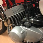 Kawasaki H1 Mach 111 - 1969 - Carburettors, Inlet Rubber, Engine and Gearbox,