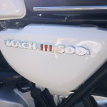 Kawasaki H1 Mach 111 - 1969 - Side Panel Badge, Mach 111 500.