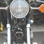 Kawasaki S3 400 - 1974 - Headlight, Front Forks, Horn and Indicators.