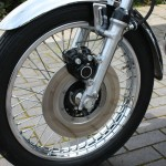 Kawasaki S3 400 - 1974 - Front Wheel, Front Brake, Disc and Calliper.