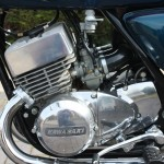 Kawasaki S3 400 - 1974 - Fuel Tap, Engine and Gearbox, Gear Lever, Frame and Cylinders.