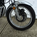 Kawasaki Z1 - 1973 - Front Wheel, Front Disc Brake and Calliper.