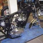 Kawasaki Z250 - 1980 - Restoration, Frame Powder Coated, Engine Polished and New Wiring.