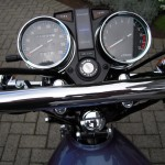 Kawasaki Z250 - 1980 - Handlebars, Clocks, Speedo and Tacho.