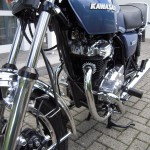 Kawasaki Z250 - 1980 - Front Forks, Engine and Exhaust.