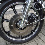 Kawasaki Z250 - 1980 - Front Wheel and Disc Brake.