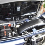 Kawasaki Z250 - 1980 - Under Seat Detail, Battery, Frame, Seat Lock and Catch.