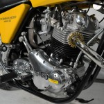 Norton Commando S-Type - 1969 - Engine and Gearbox, Timing Cover, Cylinder Head and Frame.