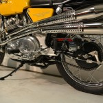Norton Commando S-Type - 1969 - Upswept Mufflers, Brake Arm, Side Stand and Chain.
