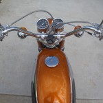 Suzuki Cobra - 1968 - Gas Tank, Handlebars, Flashers, Clocks and Gas Cap.