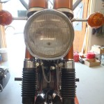 Suzuki Cobra - 1968 - Genuine Suzuki headlight and Front Forks.