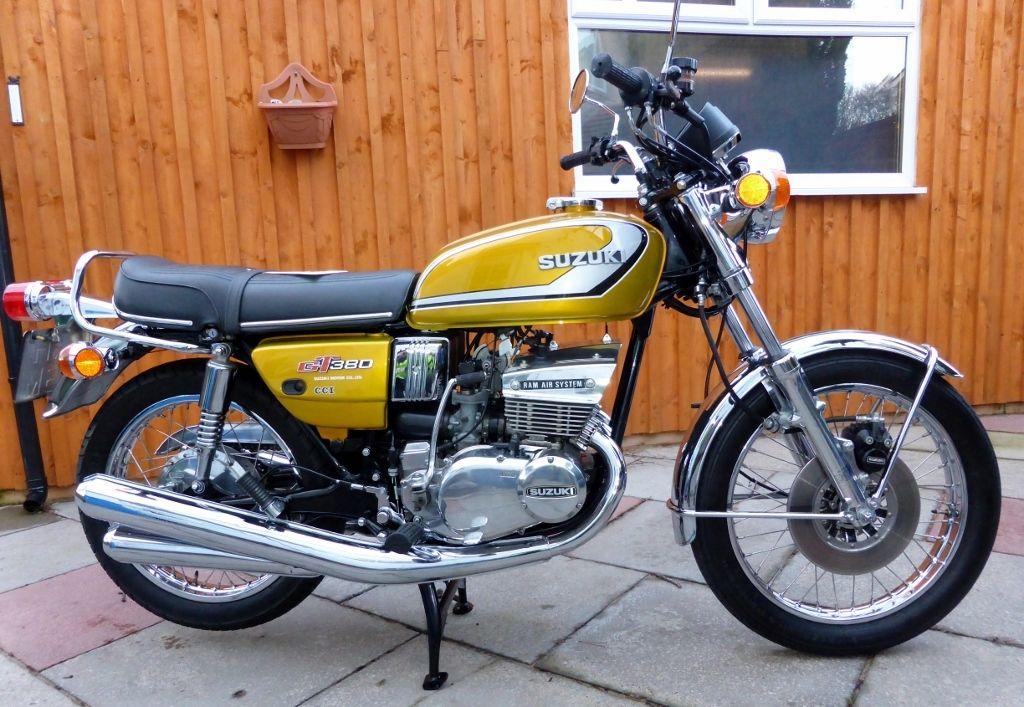 Restored Suzuki Gt380 1974 Photographs At Classic Bikes