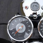 Triumph Bonneville T120R - 1970 - Clocks, Speedo and Tacho.