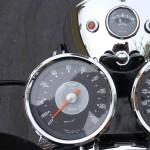 Triumph Bonneville T120R - 1970 - Clocks, Speedo and Tacho.