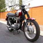 Triumph Bonneville T120R - 1970 - Front Wheel, Font Fender and Gas Tank.