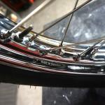 Triumph Bonneville T120R - 1970 - Spokes and Chrome Wheel Rim.