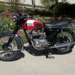 Triumph Daytona - 1973 - Engine and Gearbox, Frame, Wheels and Tyres.