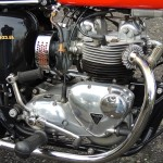 Triumph Daytona - 1973 - Engine Detail, Motor and Transmission, Timing Cover, Kick Start, Gearbox and Gear Change.