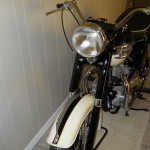 Triumph Tiger T110 - 1958 - Front Forks, Front Fender and Lights.