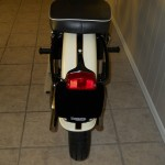 Triumph Tiger T110 - 1958 - Rear Light, Rear Fender and Seat.