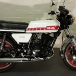 Yamaha RD400F - 1979 - Tank, Side Panel, Frame, Wheels and Tyres.