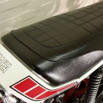 Yamaha RD400F - 1979 - Seat, Tail Piece, Yamaha Logo.