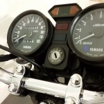 Yamaha RD400F - 1979 - Ignition Switch, Clocks, Speedo, Tacho and Lights.