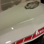 Yamaha RD400F - 1979 - Fuel Tank, Yamaha Decal and Fuel Cap.